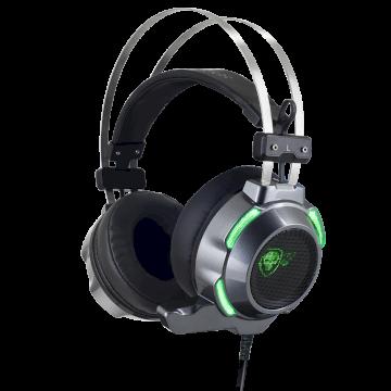 Casque Micro ELITE-H30  Retro-eclairage Vert USB/jack *Spirit Of Gamer MIC-EH30*