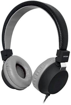 Casque Audio Casque BeColor Noir jack  *Campus MIC-IP686BK *