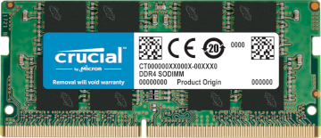 Mémoire SODIMM DDR4 -2400 4Go * Crucial CT4G4SFS824A   *