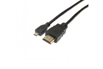 Cordon HDMI à Micro HDMI Mâle-Mâle  1.5M Boite * DCU 305004 *
