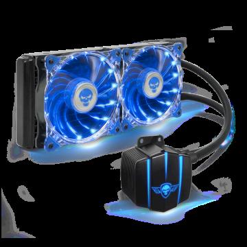 Kit Watercooling CPU LiquidForce LED 240  TOUT INTEL ET AMD * SOG-LC240BL*
