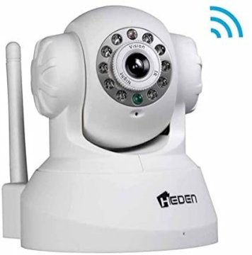 Camera IP Heden Cloud Interieure Motorisee RJ45/Wifi Blanc* Heden CAMHEDP4IPWB *