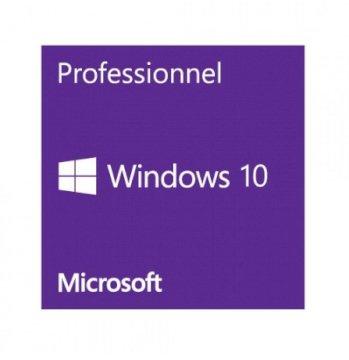 Windows 10 Pro - Licence - 1 licence - OEM -  64-bit  français sans DVD