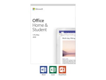 MAIL Microsoft Office Famille et etudiant 2019 (Word,Excel,Powerpoint,Onenote)