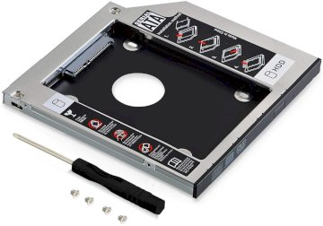 Support Adaptateur Caddy Disque Baie Lecteur Optique Dur 9.5 mm SATA