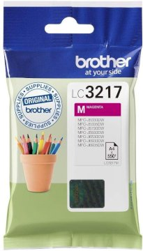 Brother LC3217M - magenta - originale - cartouche d'encre