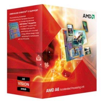 Processeur AMD A6-3500 2.1 GHZ SKT FM1 L2 3MB 65W BOX