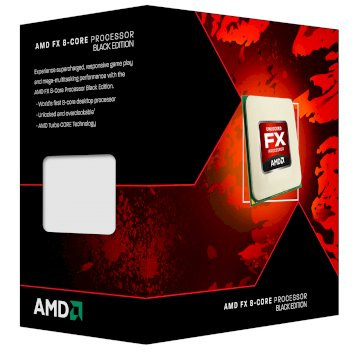 Processeur AMD FX 8350 Octa Core 4.2GHZ SKT AM3+ Box