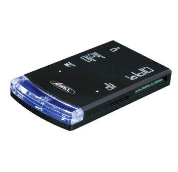 Lecteur de carte tout  en 1 + SIM externe  sur Port USB Noir *Advance CR-C602*