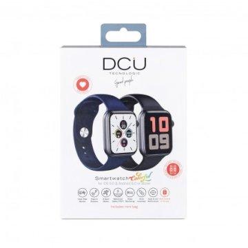 Smartwatch bluetooth Noir + Bleu Marine * DCU 34157046 *