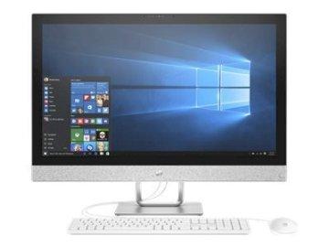 Ordi HP 27r077nf  AIO7 I7 7700T 8Go 2TB AMD radeon 530 W10 Blanc