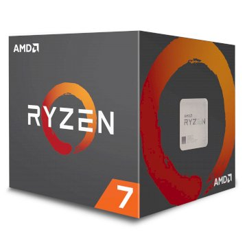 Processeur AMD RYZEN 7 2700X 4.1GHZ  SKT AM4 20MB 65W WOF IN
