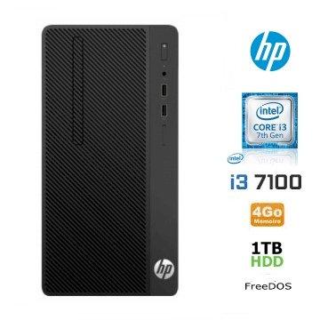 Bundle HP 280 I3 7100 4go 1To *4CZ69EA* + ssd 250go + W10 Pro