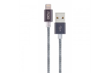 Cable USB - Lightning ( Iphone 5 et 6 ) boite grey  cable 1M * DCU 34101215 *