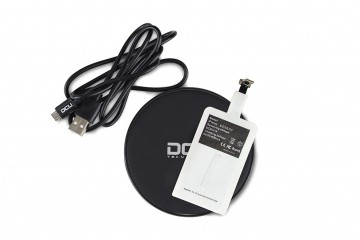 Chargeur induction boite avec IQ card Iphone et Android * DCU 37350020 *