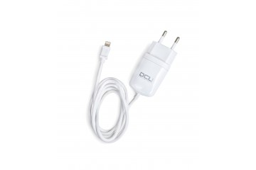 CHARGEUR 5V 2.4A  + CABLE MFI LIGHTNING (1m) * DCU 37350000 *