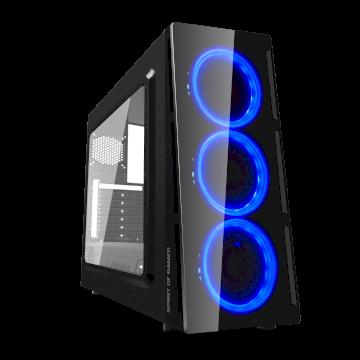 Boitier DEATHMATCH 5 BLUE EDITION   mATX/ATX sans alim* 8801BL30 *