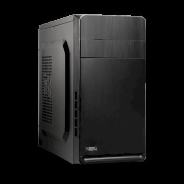 Advance Industry  Boitier mATX  6419B3 noir alim 480W  USB 3 en facade+ lect SD