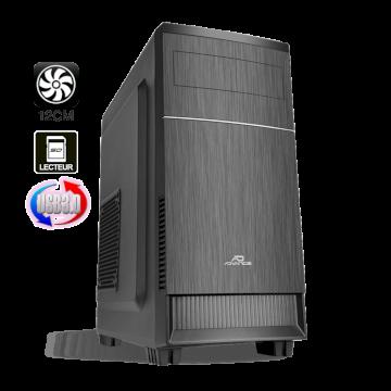 Advance Impulse Boitier mATX  6613B30 noir sans alim USB 3 en facade+ lect SD