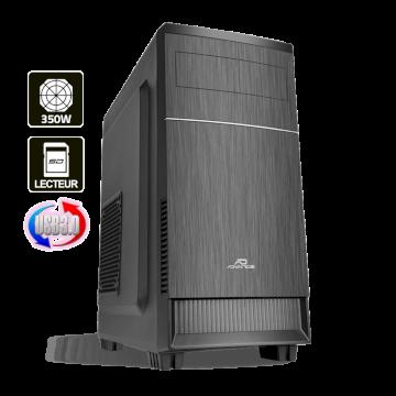 Advance Impulse 350 Boitier mATX  6613B3 noir alim 350W USB 3 lect SD (alim 80+)