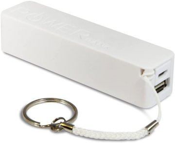 Chargeur Externe Power Bank 2600mAh Blanc