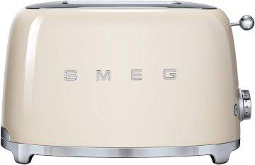 Grille Pain Toaster 950W 2 fentes Creme * SMEG TSF01CREU *