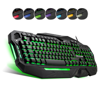 Clavier USB filaire gamer programmable  * Spirit of Gamer Elite K20 *