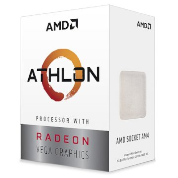 Processeur AMD Athlon 3000G  3.5GHZ  SKT AM4 *  YD3000C6FHBOX *