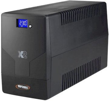 Onduleur Line Interactive 1250VA * Infosec X2 1250FR/Schuko   66001*