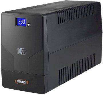 Onduleur Line Interactive 1600 VA* Infosec X2 1600FR/Schuko   66002*