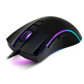 Souris Gamer filaire  RGB 4000DPI Black  *Spirit of gamer S-EM20BK2*