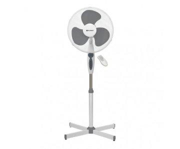 Ventilateur sur pied de 16 pouces Blanc avec télécommande * PRSF16W *
