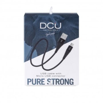 Cable USB -  Micro USB Pure Strong noir boite  cable 1.5M * DCU 30401255 *