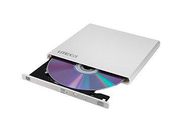 Graveur DVD slim externe Sata Blanc 24x *Lite-On EBAU108-21*