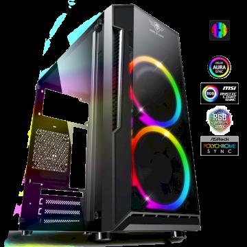 Boitier DEATHMATCH 3 A- RGB Edition  mATX sans alim* 6001RA *