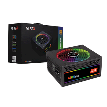 Alimentation M.RED 850W Gold 80 Plus Full Modulaire * GOLD -FM-RGB-850 *