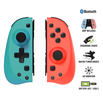Manettes ergonomiques pour Nintendo Switch MY JOY PLUS Spirit of Gam*SOG-BTGP42*