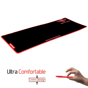 Tapis de souris Gaming XXL Spirit Of Gamer Rouge  * SOG-PAD01XXR *