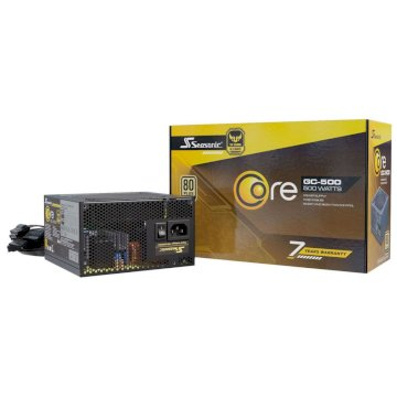 Alimentation Seasonic Core GC-500  500W Gold 80 Plus Standard