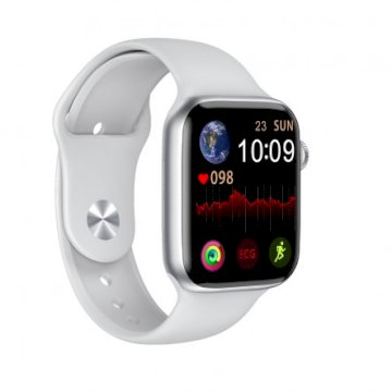Smartwatch avec appels bluetooth blanc * DCU 34157040 *