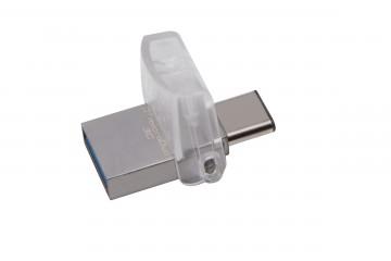 Kingston DataTraveler microDuo 3C  Clé USB 128 Go USB 3.1/USB-C*  DTDUO3C/128G *