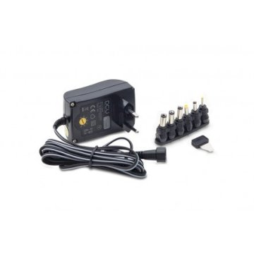 ALIMENTATION COMMUTEE 18W 8 CON & USB. 1.5A * DCU 37200045 *