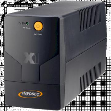 Onduleur Inline 500VA *Infosec X1 500FR/Schuko   65953*