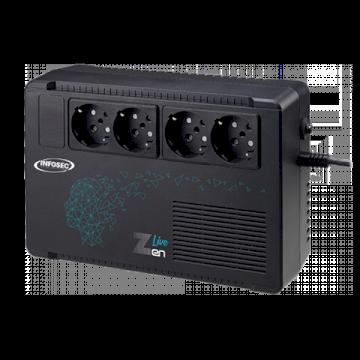 Onduleur Zen Live 500 500VA Line Interactive - 4 prises FR  * Infosec 66081 *