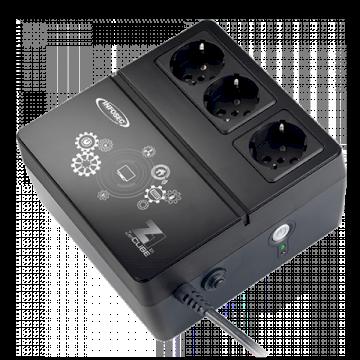 Onduleur Zenergy Cube 600VA - 3 prises FR  Ondulées EX 600 *Infosec 66073*