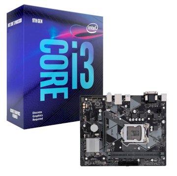 ASUS PRIME H310M-R R2 + Processeur I3 9100F + Ventirad X Dream i117