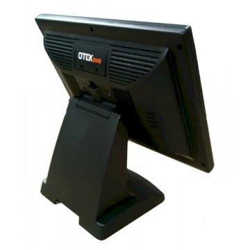 ECRAN 15 Tactile Otek VGA + DVI Black