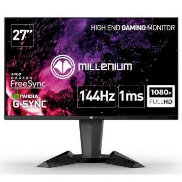 Ecran 27 LED Millenium Full HD 1ms 144Hz DP HDMI  * Millenium MD27PRO *