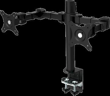 Bras réglable pour 2 écrans LCD  * Vision  VFM-DPD2B *
