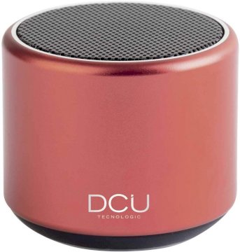 Mini haut-parleur Bluetooth 3W rouge  * DCU 34156010 *
